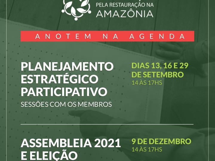 Assembleia 2021 da Aliança pela restauração na Amazônia